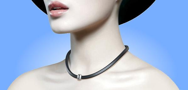 Fineck neck sensor