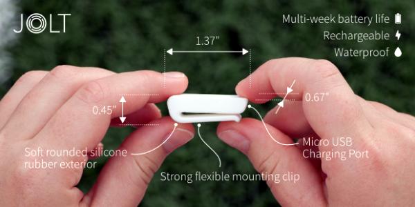 Jolt concussion sensor