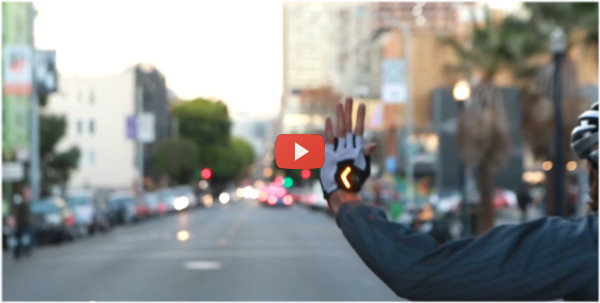 Zackees bike gloves