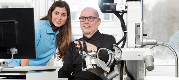 Hocoma robotic arm