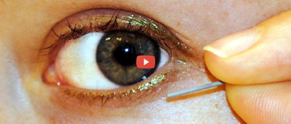 Tears glucose sensor