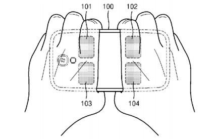 Samsung body fat patent