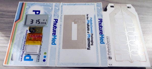 EInk pharma package