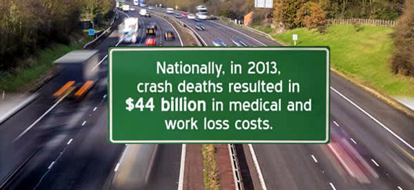CDC car accident data