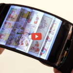 Flexible Display Leads to Bending Interface [video]