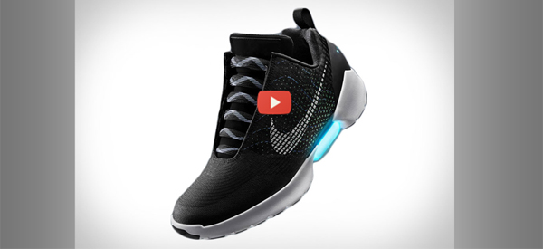 Nike HyperAdapt with Video 600x275