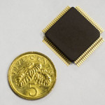 Low power smart chip for implants has multiple benefits
