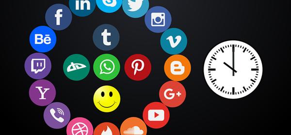 Social Media Icons 600x280