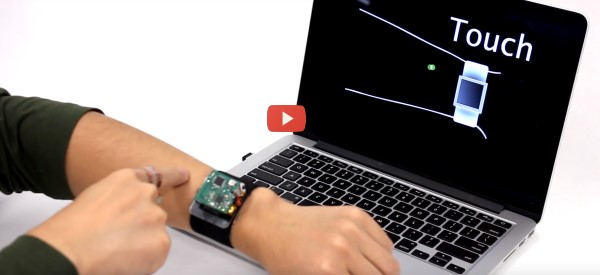 Simple Device Turns Skin into Touchpad