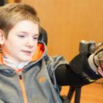 Zero-gravity Upper Extremity Exoskeleton Supports Duchenne Patients