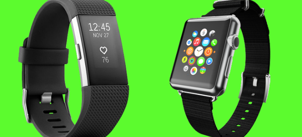 Fitbit and Apple Watch 600x273