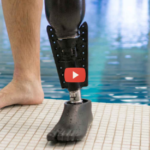 Prosthetic Leg with Fin Helps Amputees Swim [video]