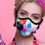 Fashionable Masks Filter Pollution, Bacteria, and Viruses  [video]