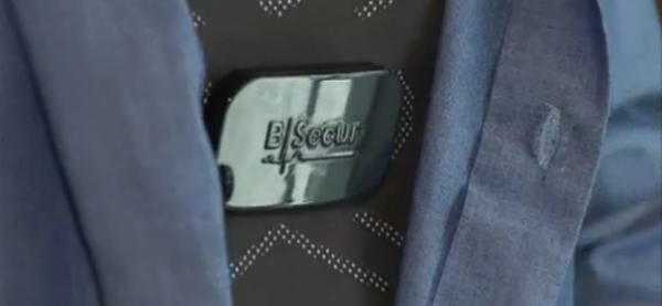 Wearable Biometrics Used for Secure Identification