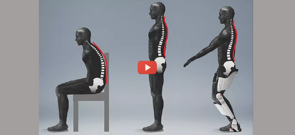 Stand for Hours with an Exoskeleton [video]