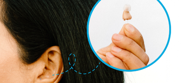 """New """"Invisible"""" Hearing Aids Hide in Your Ear"""