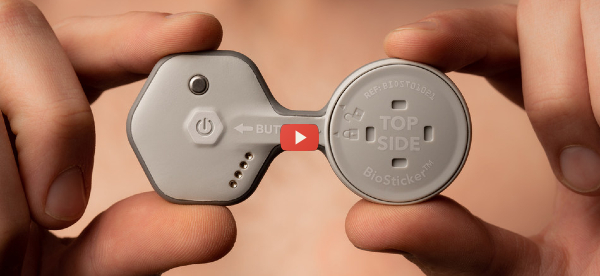 Wearable Monitors Vital Signs for 30-Days [video]