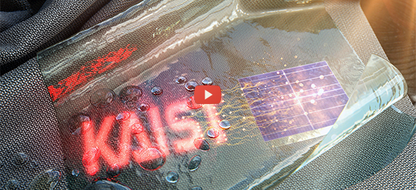 Self-powered, Washable and Wearable Displays [video]