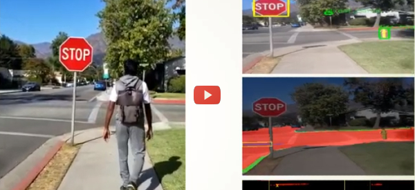 The Blind Can Navigate Streets Using a Smart Backpack [video]