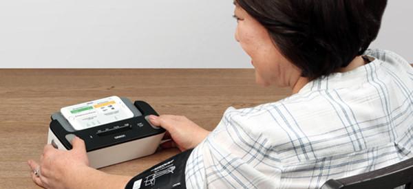 Omron Complete Blood Pressure and EKG Monitor