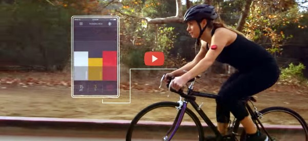 Wearable Reads Data from Implanted Sensor [video]