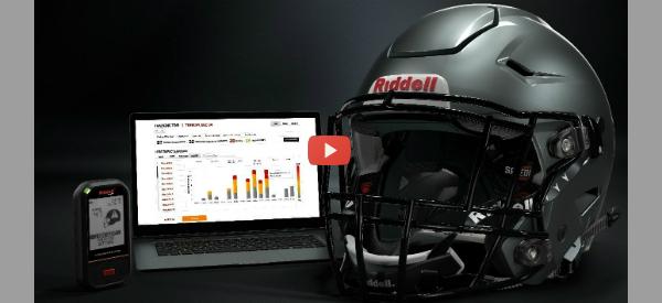 Football Helmet Monitors Impacts [video]