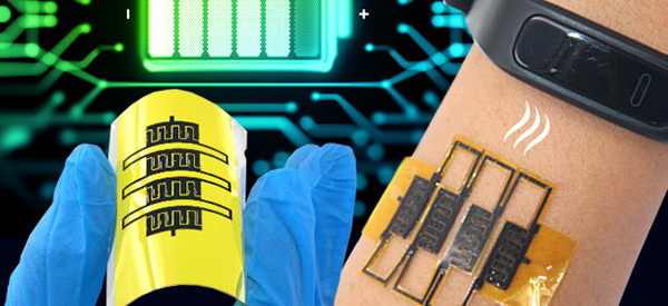 Graphene SuperCap Harvests Power for Wearables