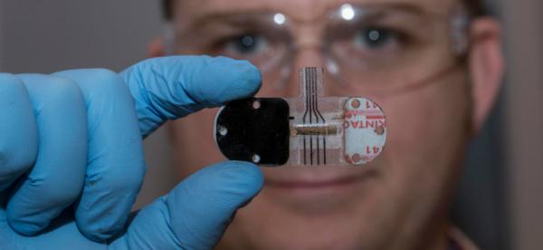 Sweat Sensor Enables Noninvasive Health Monitoring