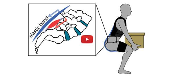 New Exoskeleton Prevents Back Pain [video]