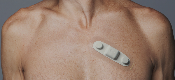 Smart Patch Collects Heart Data for Walking Health Check