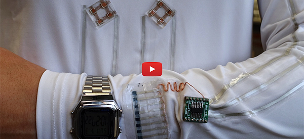 Smart Shirt Microgrid Harvests Body Energy Sustainably