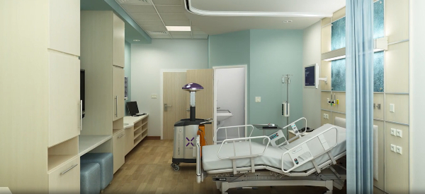 Robot Zapps Hospital Germs in Hospitals