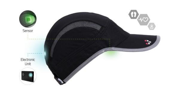 Running Hat Monitors Heart Rate