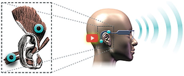 CES 2015: Wearable Controller Uses Ear Muscles [video]