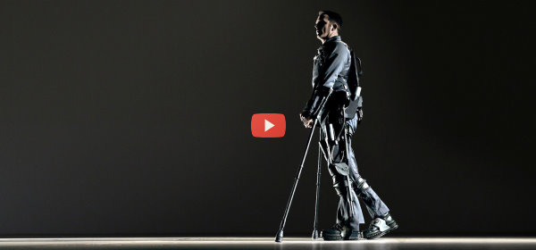 Another Exoskeleton Helps Paralyzed Patients [video]