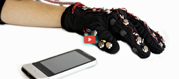 Teletouch Glove for the Deaf and Blind [video]