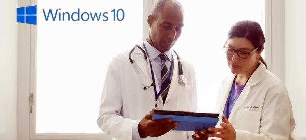 Microsoft Touts Windows 10 for Healthcare