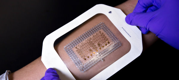 New Process Creates Low-Cost Electronic Patches