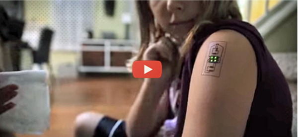 Cool Tattoos Can Check Your Vitals [video]