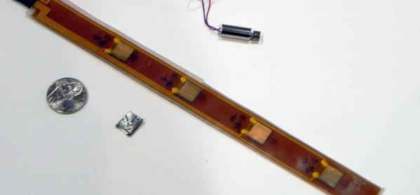 Plastic Film Creates Vibrating Signals