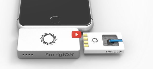 DNA Sequencing on Your Smartphone [video]