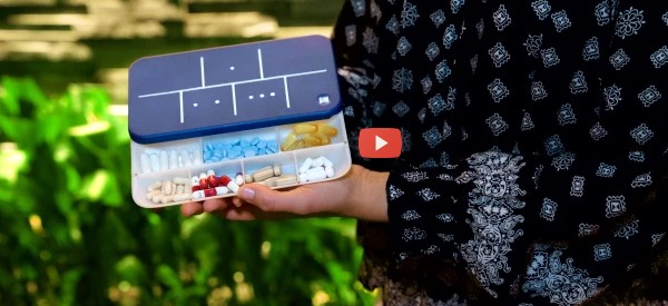 Another Smart Pill Box Takes New Approach [video]