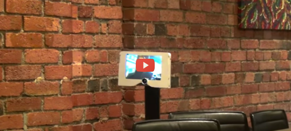 Mind Control Interface Enables Robotic Telepresence [video]
