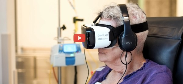 Virtual Reality Aids Cancer Patients [video]