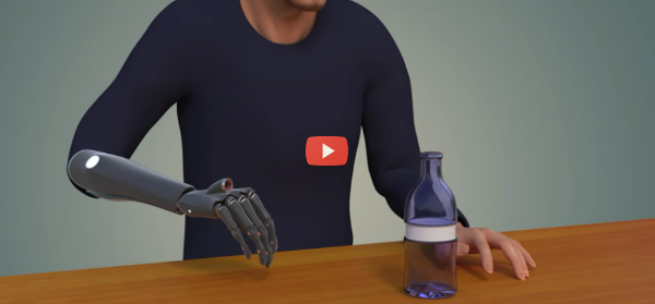 Prosthetic Hand Uses Embedded Eye to See [video]