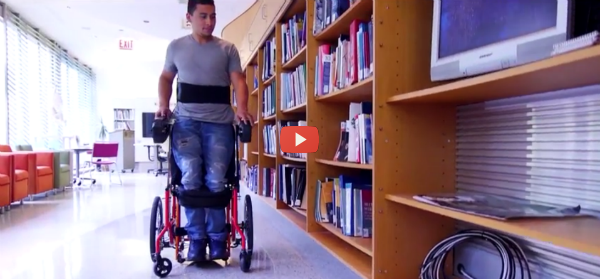 Sit-Stand Wheelchairs Give Riders Options [video]