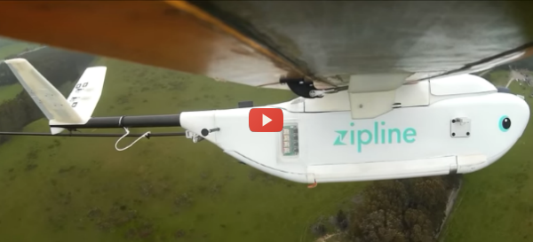 Drones Deliver Lifesaving Blood Supplies [video]