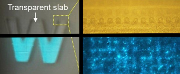 Electronic Skin Glows Under Pressure